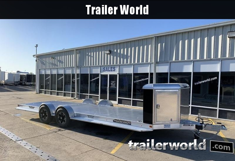2020 Aluma Executive Series 8222H-XL 22' Aluminum Open Car Trailer