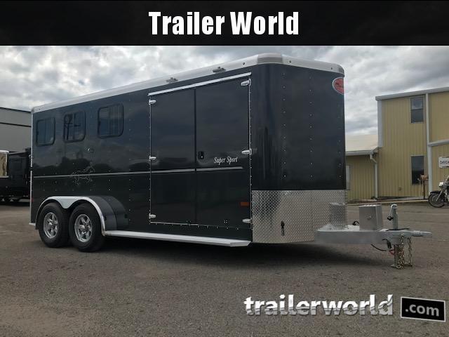 2020 Sundowner Trailers 3 Horse Slant BP Super Tack Horse Trailer