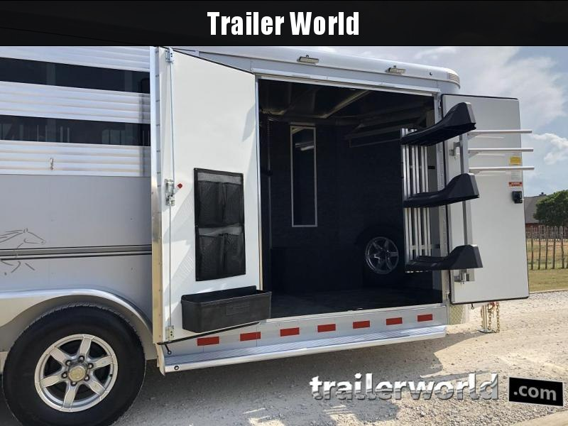 2020 Sundowner Trailers 3 Horse Slant BP Super Tack Horse Trailer