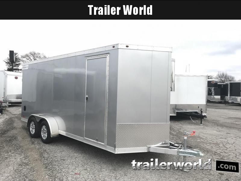 2019 Haulmark 7' x 18' x 7' Aluminum Enclosed Cargo Trailer - CLEARANCE