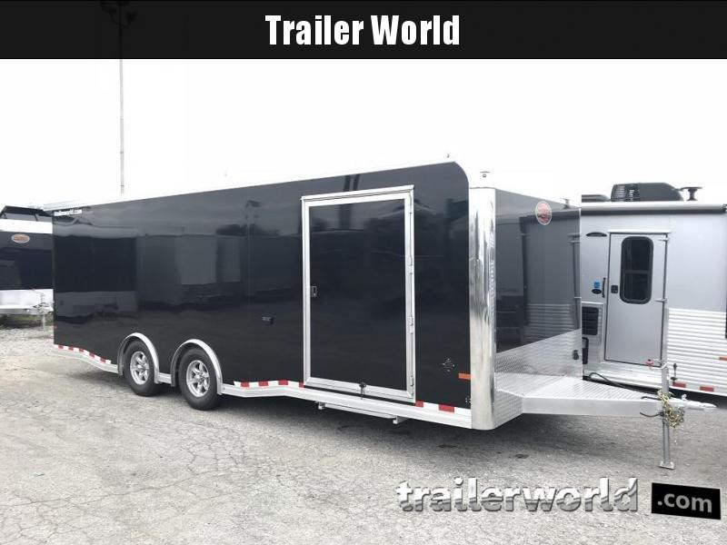 2019 Sundowner 24' Spread Axle Car Aluminum Race Trailer