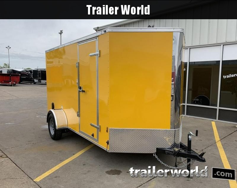 2020 Continental Cargo 6 x 12 x 6.3 Trailer w Ramp Door