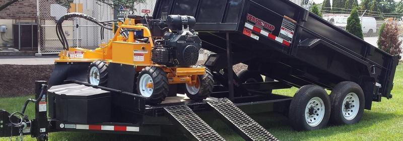 2020 Midsota FFRD 18'  6' + 12' Dump Trailer 15.4k GVWR