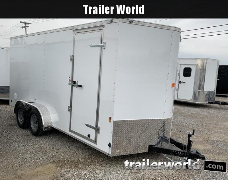 2020 Continental Cargo 7' x 16' x 6.9' Enclosed Cargo Trailer