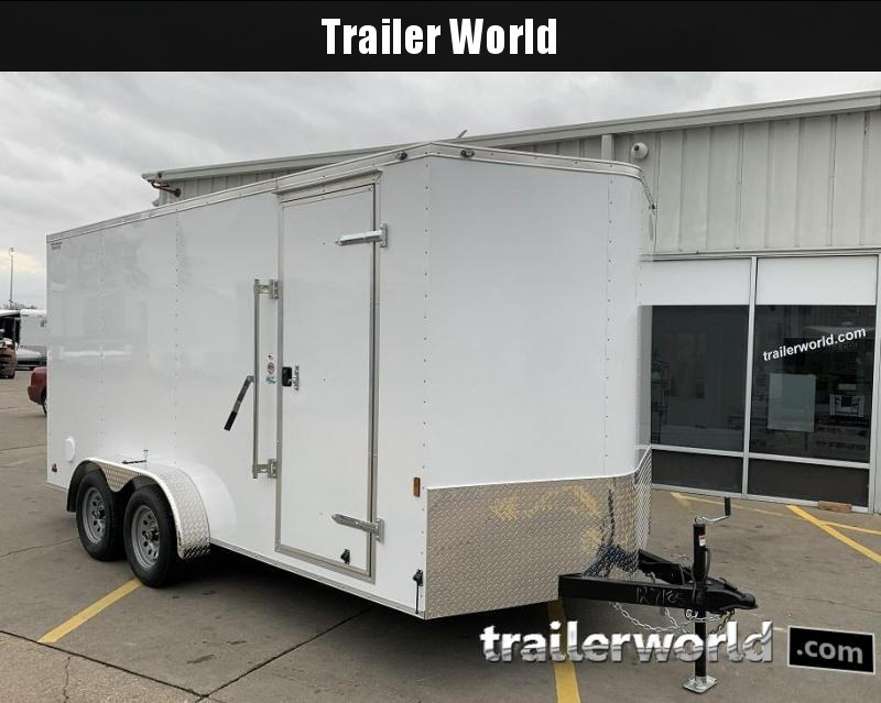 2020 Continental Cargo 7' x 16' x 6.9' Enclosed Cargo Trailer