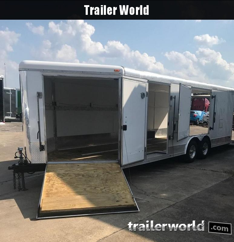 2008 MTI Trailers 27 Multi-Use Enclosed Car Trailer