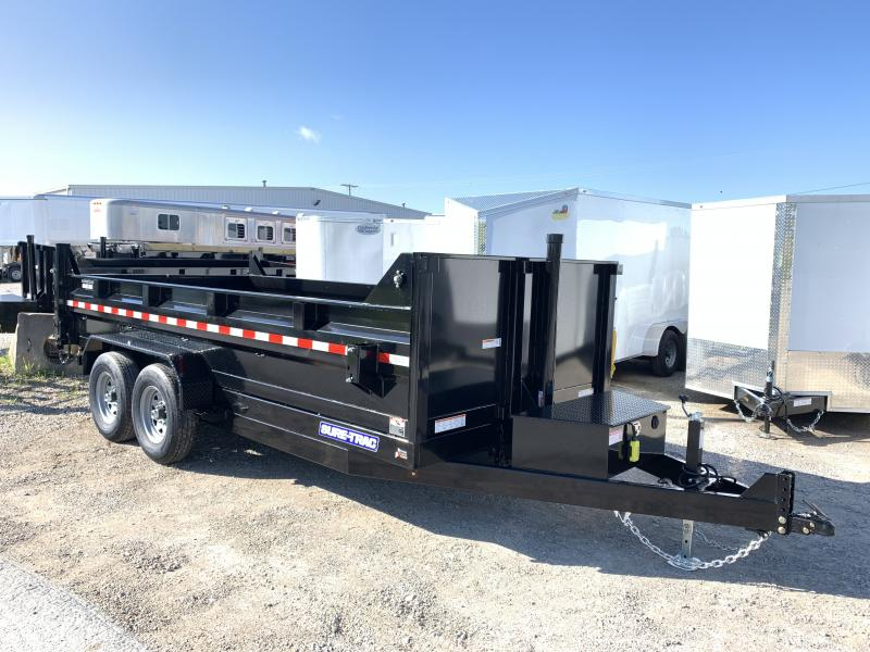 2020 Sure-Trac 16' Telescopic Dump Trailer 14k GVWR