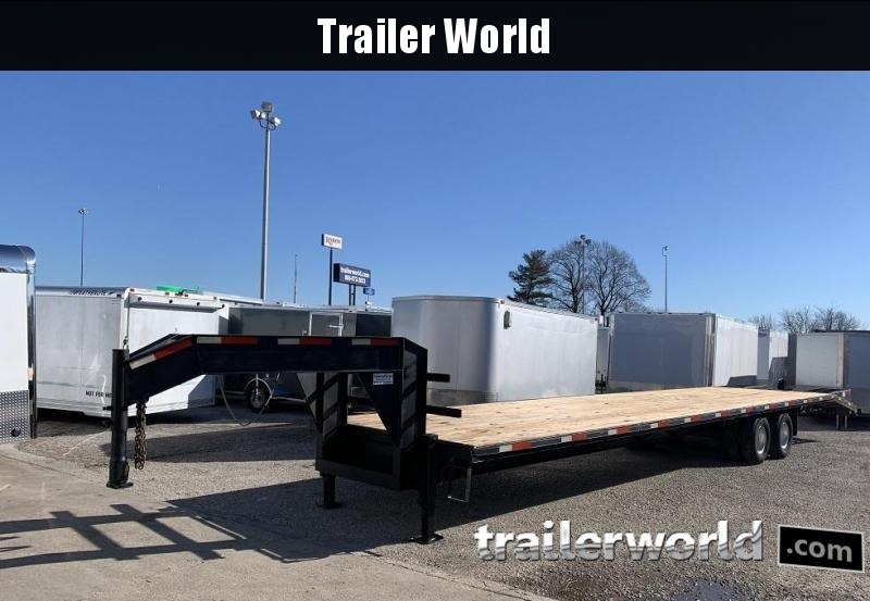 2006 JK  40' Gooseneck 10 Ton Equipment Trailer