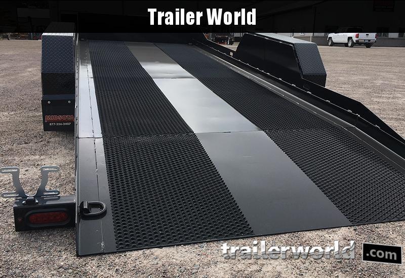 2020 Midsota SL16 16' Power Tilt Equipment Trailer