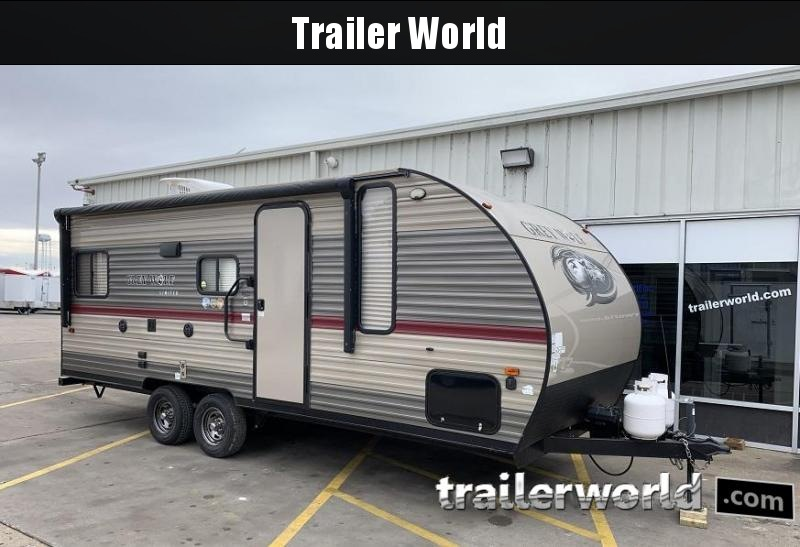 2018 Forest River, Inc. Grey Wolf 20RDSE Travel Trailer RV
