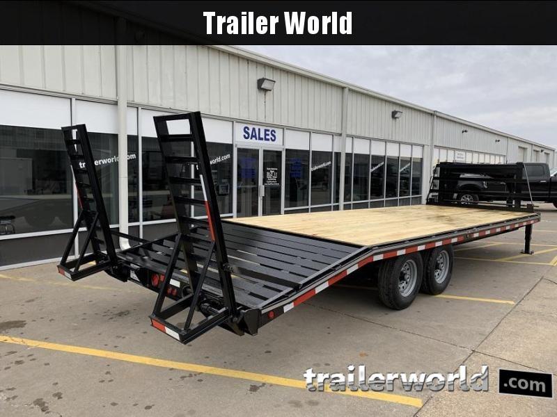 2020 Better Built 20' + 5'  7 Ton Gooseneck Flatbed Trailer