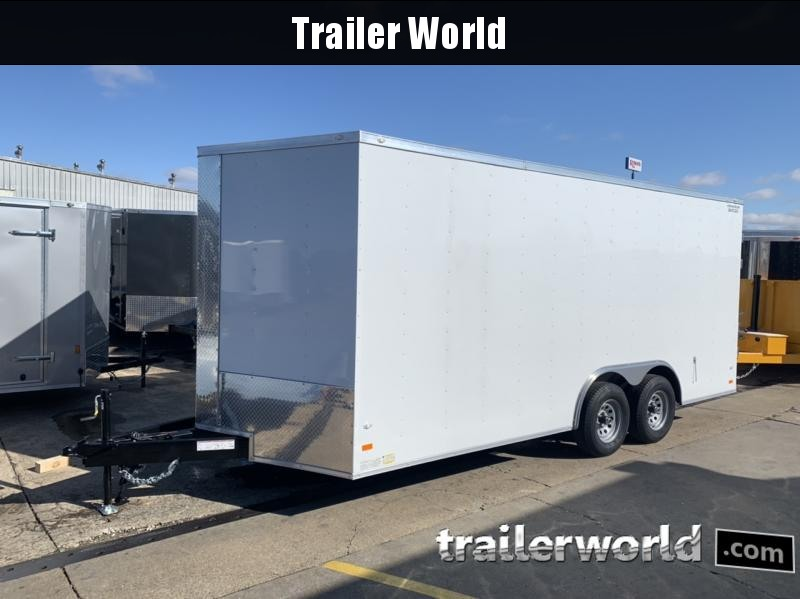 2020 CW 8.5' x 18' x 7' Tall Vnose Enclosed Cargo Trailer 10k GVWR