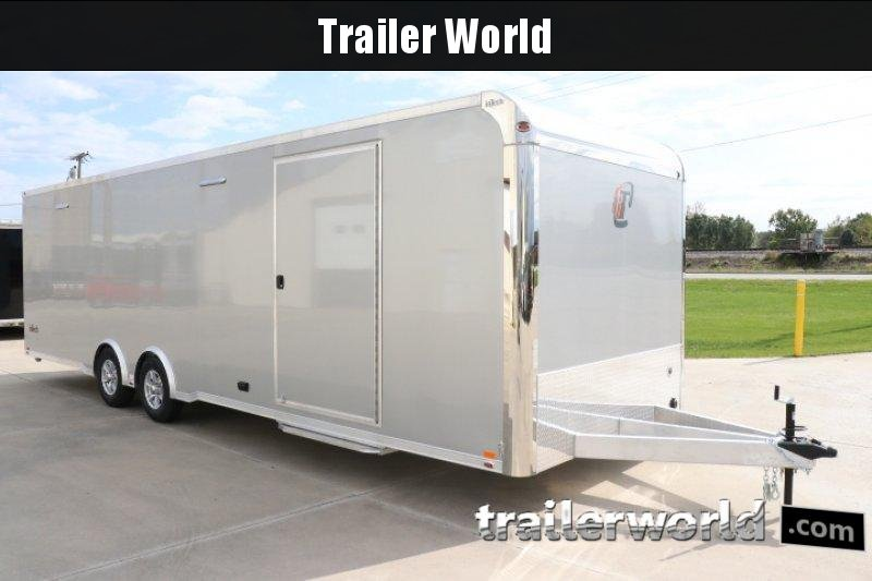 2020 inTech  28' Aluminum Enclosed Race Trailer w Full Access Door