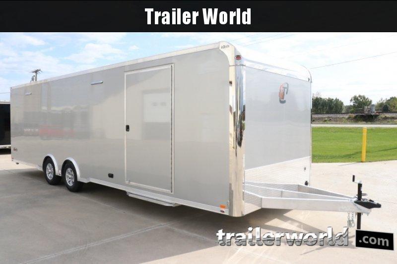 2020 inTech  28' Aluminum Enclosed Race Trailer w Full Access Door