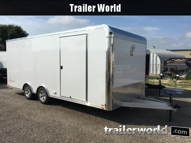 2020 inTech  20' Lite Aluminum Enclosed Car / Race Trailer