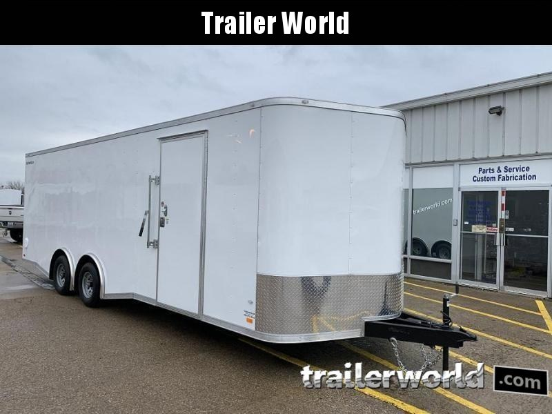 2020 CW 24' Spread Axle Car Trailer 7' Tall 10k GVWR
