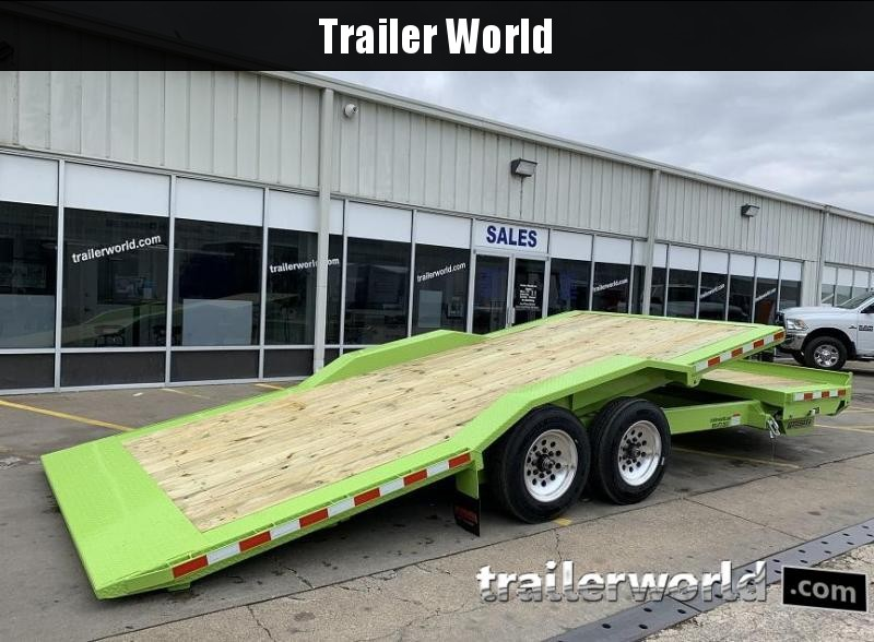 2020 Midsota TBWB-22' Wide Body Split Deck Tilt Equipment Trailer
