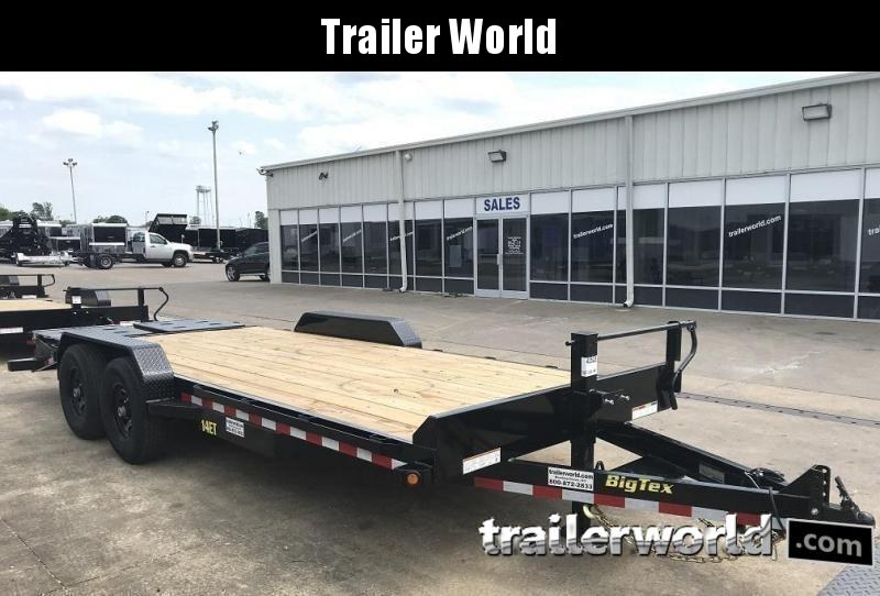 2020 Big Tex 14ET-18' Mega Ramps Equipment Trailer  7 Ton