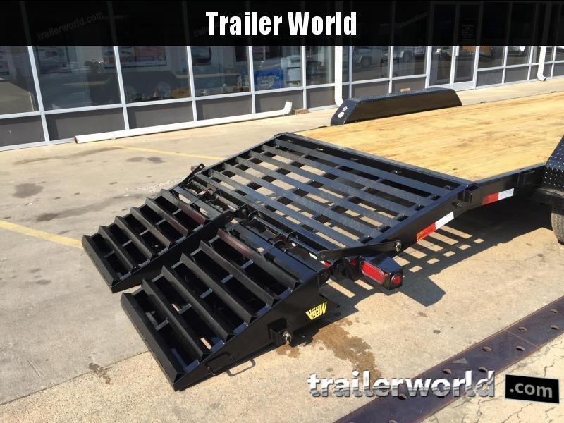 2020 Big Tex 14ET-18' Mega Ramps Equipment Trailer  7 Ton