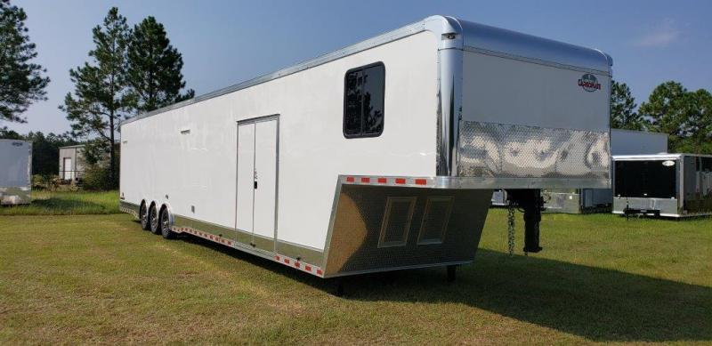 2020 Cargo Mate 48' Bath Pkg Race Trailer