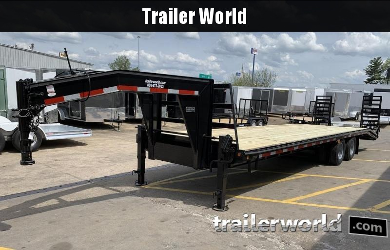 2020 Better Built 25' + 5'  10 Ton Gooseneck Flatbed Trailer