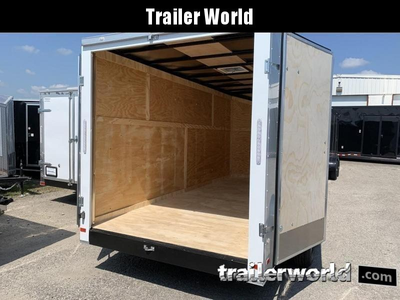 2020 CW 7' x 16' x 7' Enclosed Cargo Trailer 10k GVWR Double doors