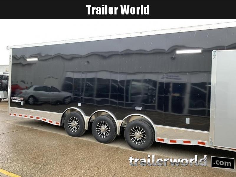 2020 Cargo Mate Eliminator 34' Aluminum Race Trailer