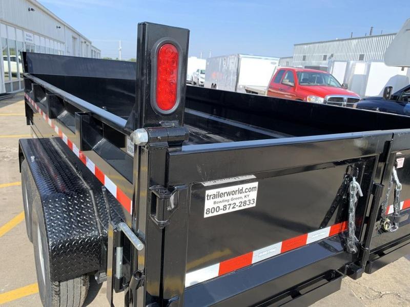 "2020 Sure-Trac 82"" X 14' Dual Ram Dump Trailer 14k GVWR"