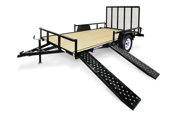 2020 Sure-Trac 7 X 14 Tube Top ATV Trailer