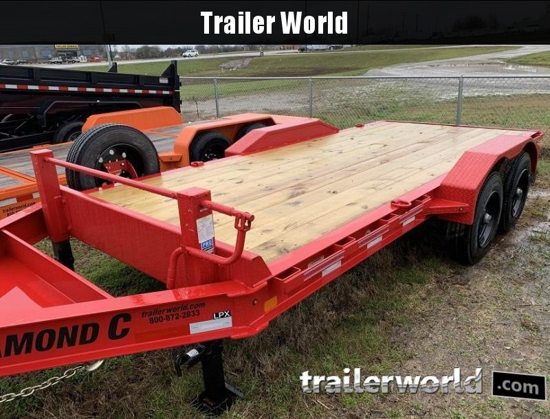 2020 Diamond C LPX 16' Equipment Trailer 20k GVWR