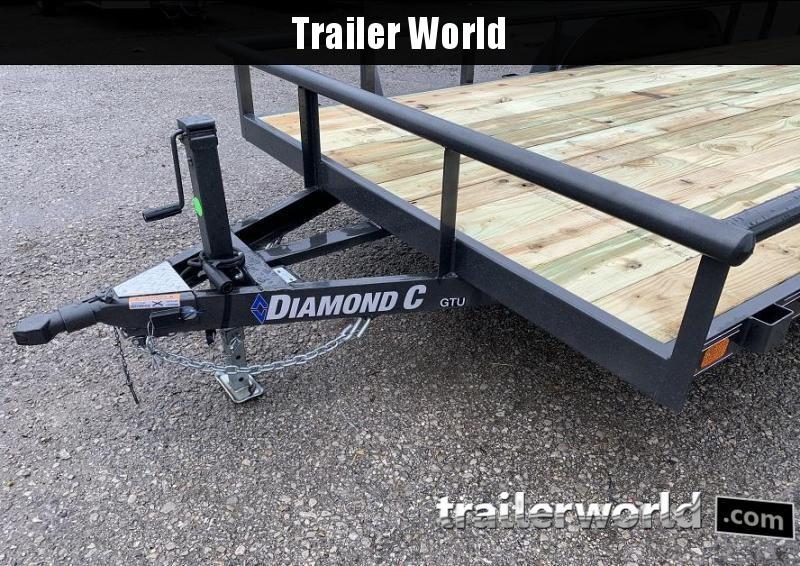 2020 Diamond C Trailers GTU 16 Utility Trailer