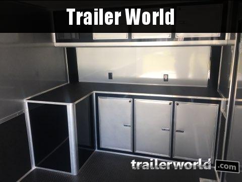 2020 Continental Trailers 24' Race Trailer Spread Axles