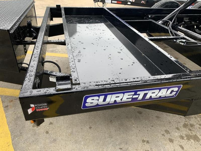 2020 Sure-Trac 14' Dump Trailer Dual Ram 14k GVWR