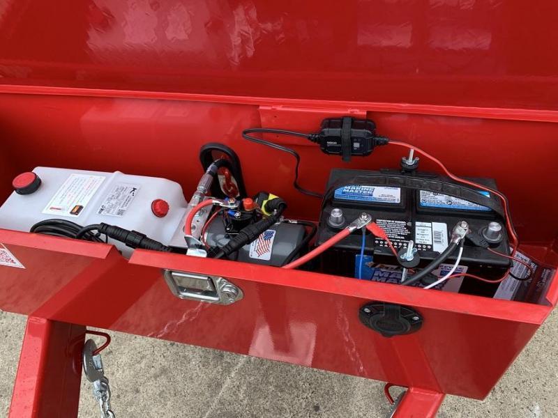 2020 Sure-Trac 82 IN X 12 LProfile 14K Scissor Dump Trailer