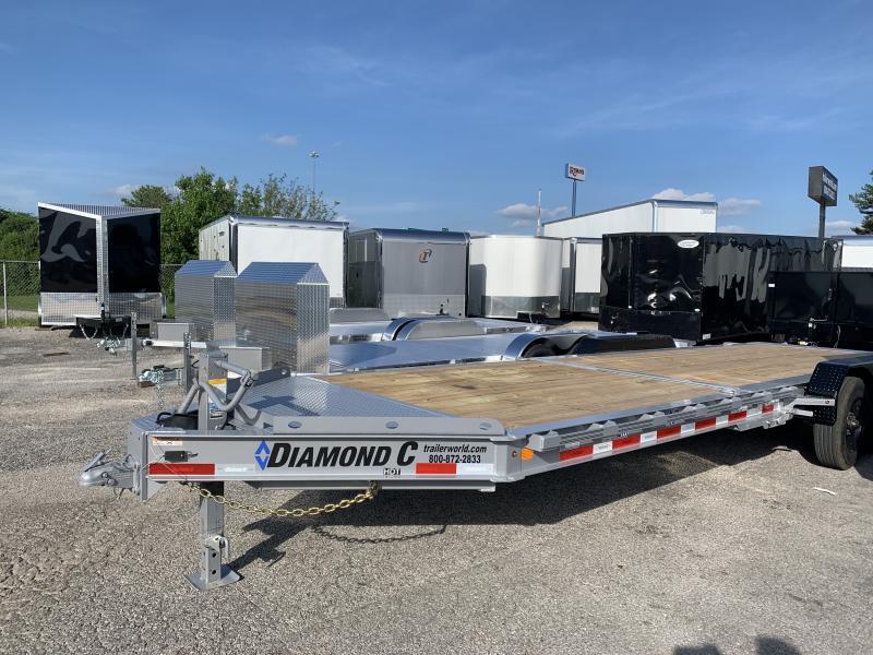 2020 Diamond C HDT 8' + 16' Tilt Bed 10 Ton Equipment Trailer