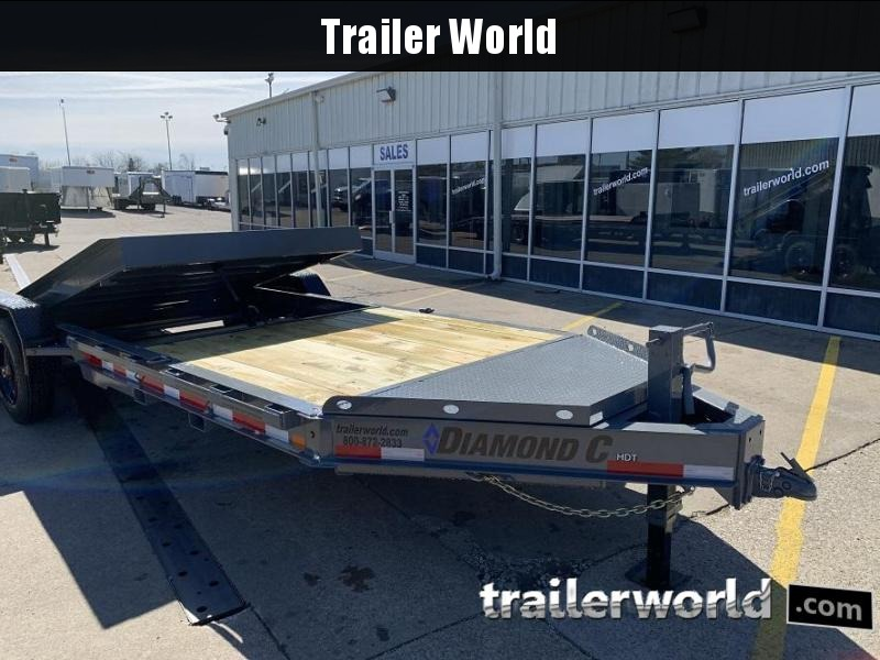 2020 Diamond C HDT 8' + 16' Tilt Bed 10 Ton Equipment Trailer