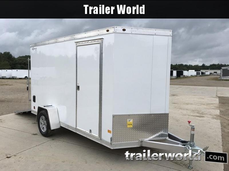 2019 Haulmark 6' x 12' Aluminum Enclosed Cargo Trailer - CLEARANCE