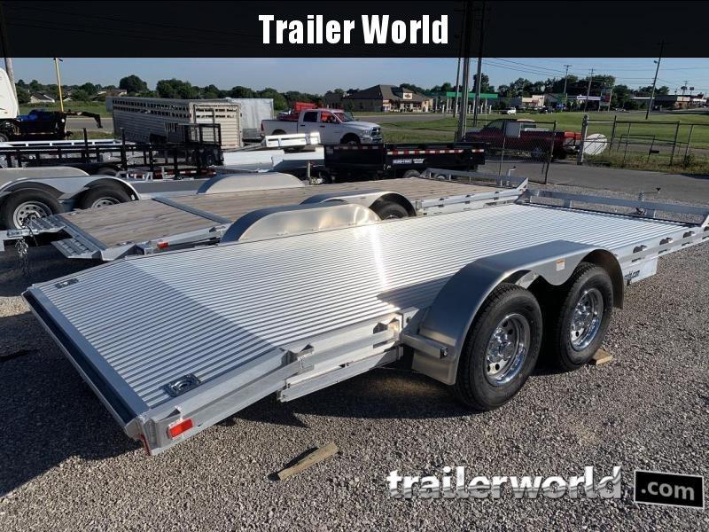 2017 American Hauler 18' Aluminum Open Car Trailer 10k GVWR