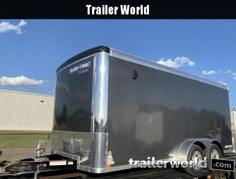 2019 Sure-Trac 7 x 16' x 6.5 Pro Series Round Top Cargo Trailer