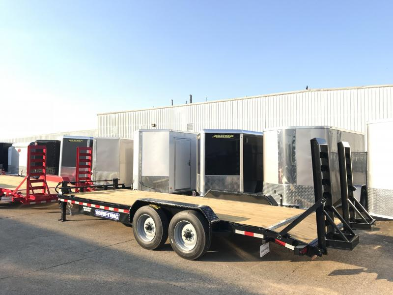 2019 Sure-Trac 20' Equipment Trailer 16k GVWR 17.5 Tires