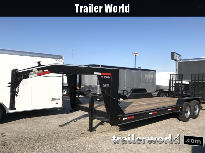 2020 Betterbuilt 22' Low Profile Gooseneck Trailer 14k GVW