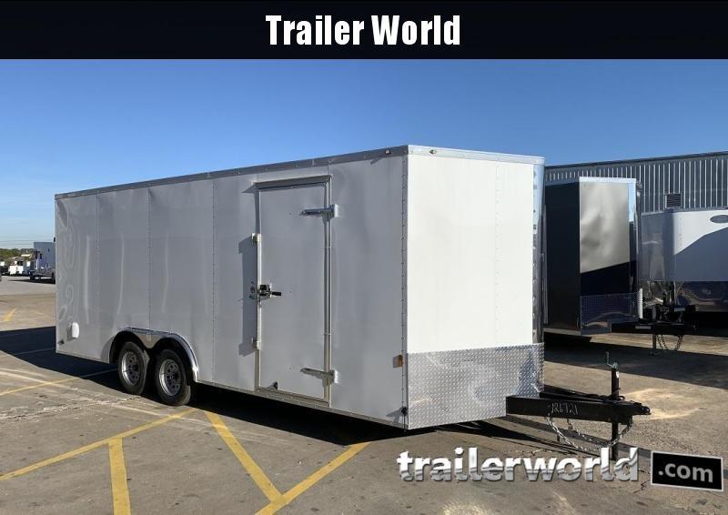 "2020 Continental 20' V Enclosed Car Trailer 6'9"" inside Height"