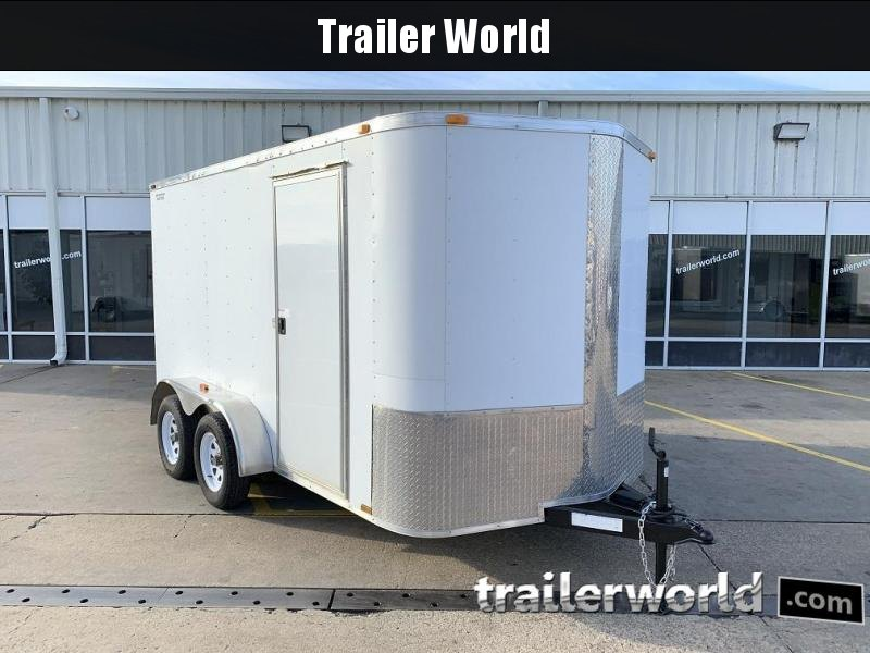 2013 ARI 6x12x6 Tandem Axle Enclosed Cargo Trailer