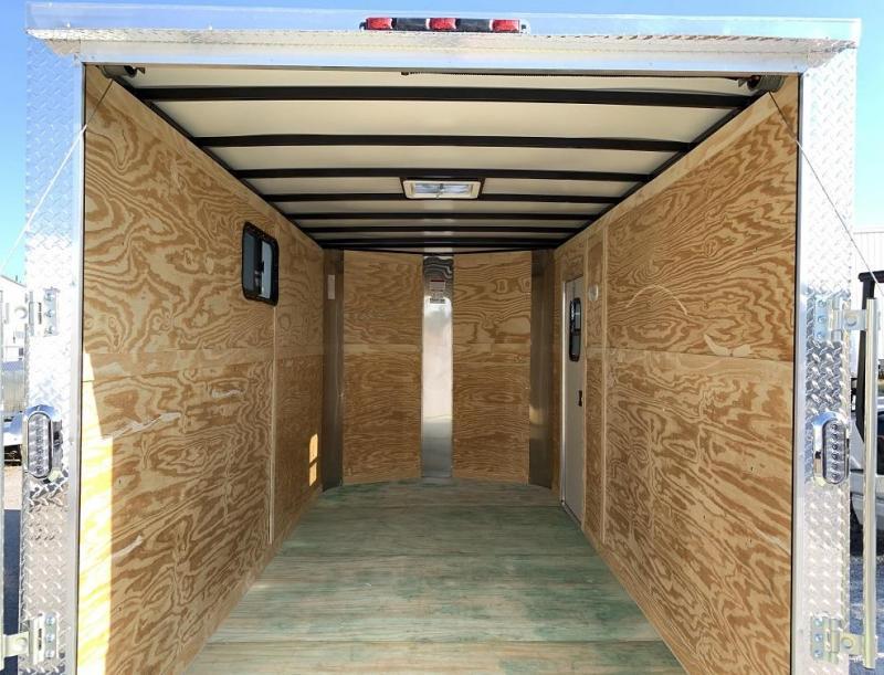 2020 ARI 7' x 14' x 7' Enclosed Cargo Trailer w/ Windows