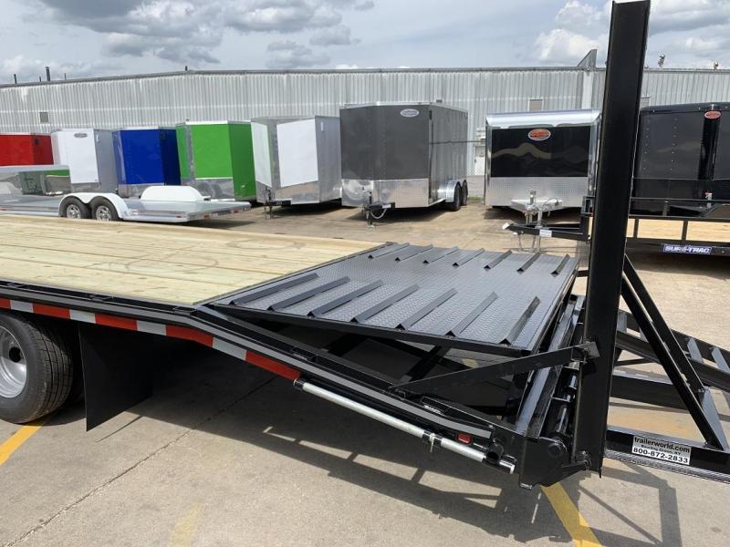 2019 Better Built 25' + 5'  10 Ton Gooseneck Flatbed Trailer