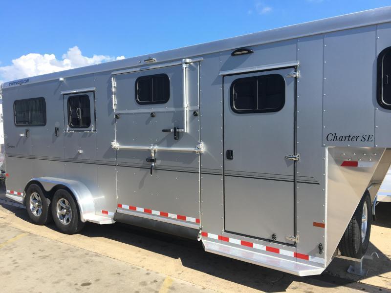 2019 Sundowner Charter SE 2+1 Box Stall Horse Trailer - CLEARANCE