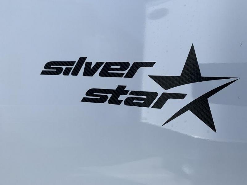 2020 Bravo Silver Star Aluminum 28' Race Trailer Full Access Door
