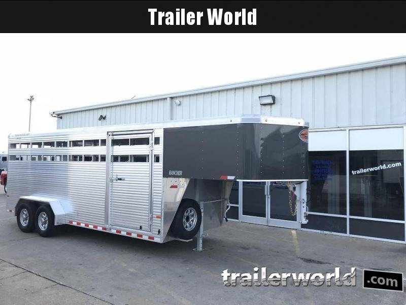 2019 Sundowner Trailers 20' Rancher 7' Tall Stock Trailer