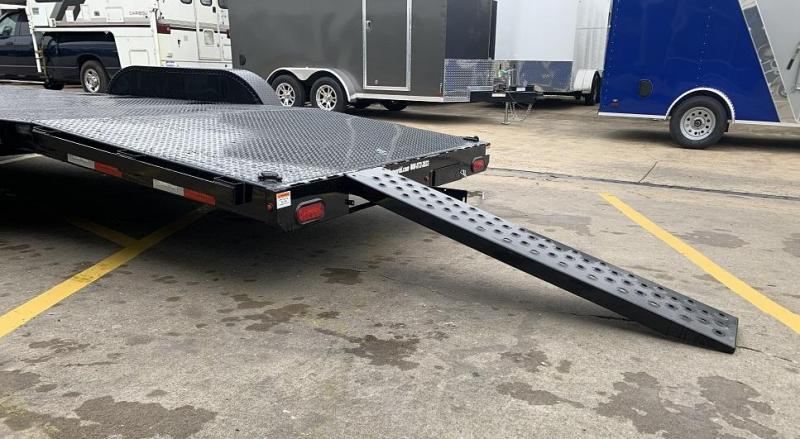 2020 Sure-Trac 7 x 20' Steel Deck Car Hauler Trailer  10k