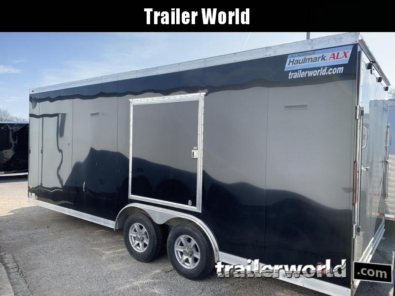 2019 Haulmark 8.5' x 20' x 7' Aluminum Enclosed Car Trailer - Clearance
